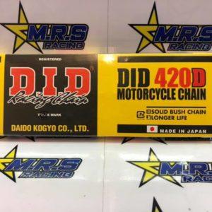 Genuine DID 420P Racing Chain 124 Links