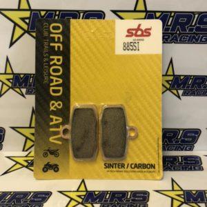 KTM SX85 Sintered/Carbon SBS Pads