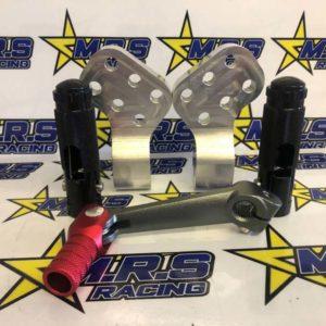 M.R.S Racing Peg Risers / Pegs / Short Gear Lever